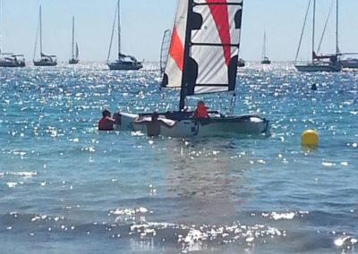 Segeln auf dem Mittelmeer